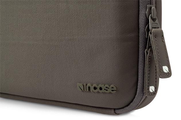 Incase Coated Canvas Shoulder Bag In Taupe 29