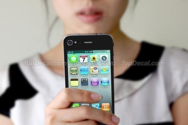iPhone 4 User Interface iPhone 4 Decal