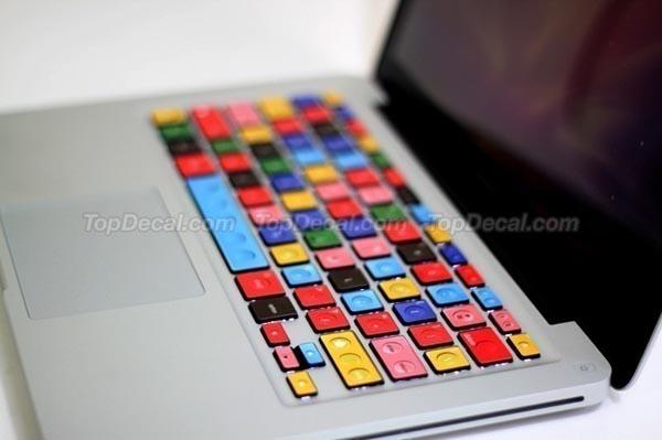 LEGO Styled MacBook Keyboard Sticker