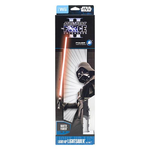 Light-Up Darth Vader Lightsaber for Your Wii Remote