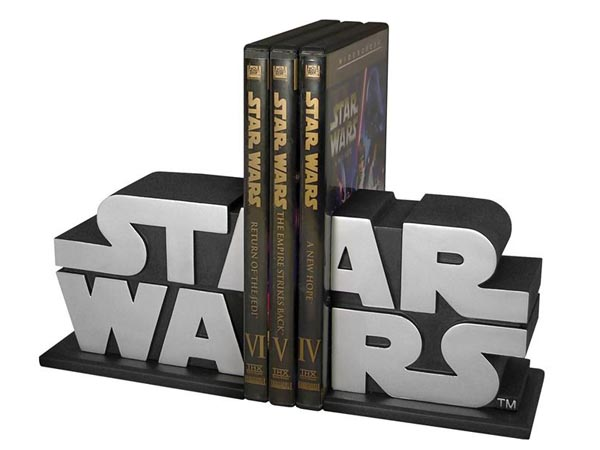 Limited Edition Star Wars Logo Bookends