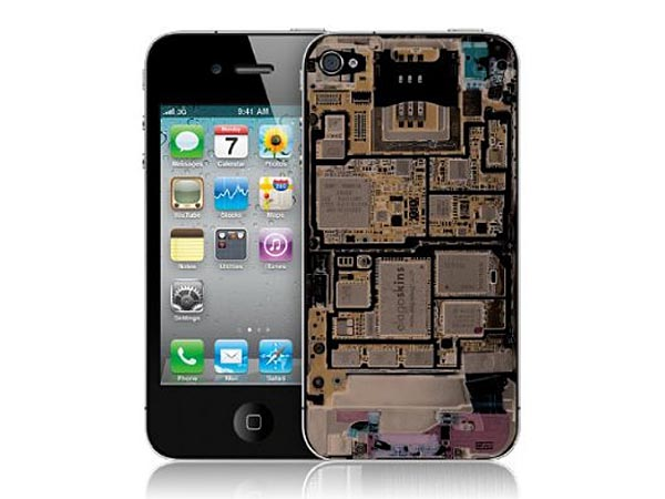 Make an X-ray for iPhone 4 Skin