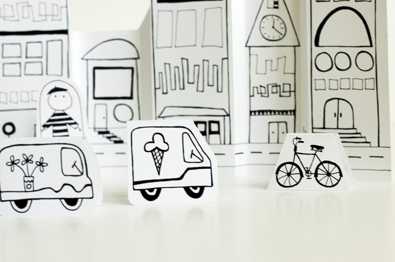 Make Your Own Paper City | Gadgetsin