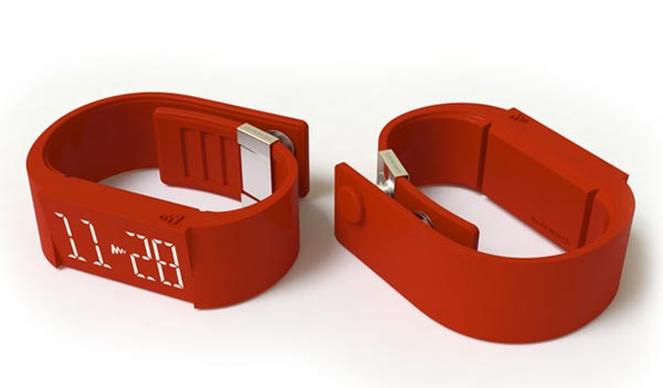 Mutewatch Wristwatch with Touch Screen