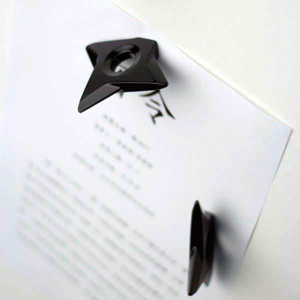 Ninja Shuriken Fridge Magnet Set