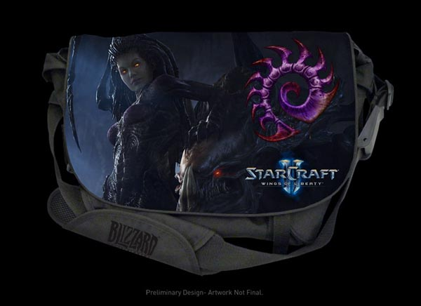 Razer Star Wars 2 Messenger Bag Zerg Edition