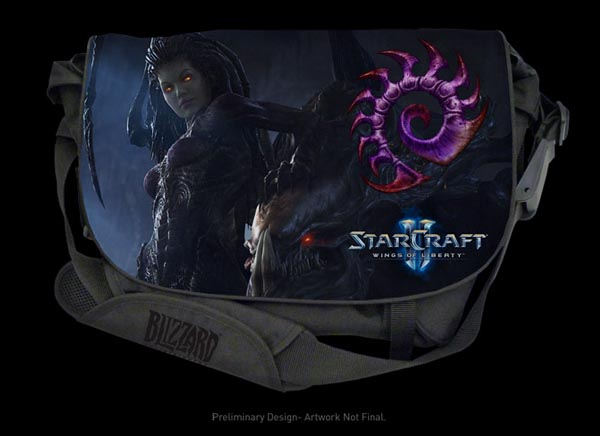 Razer StarCraft 2 Messenger Bag Zerg Edition