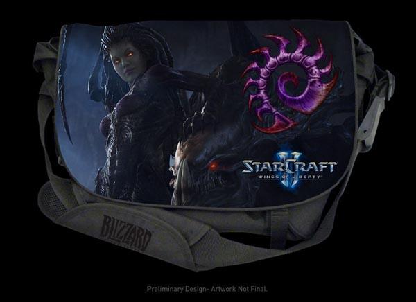 Razer Star Wars 2 Messenger Bag Zerg Edition