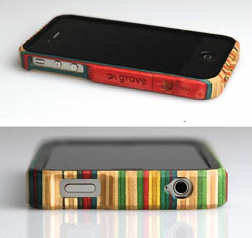 Recycled Skateboard iPhone 4 Case by Grove and MapleXO