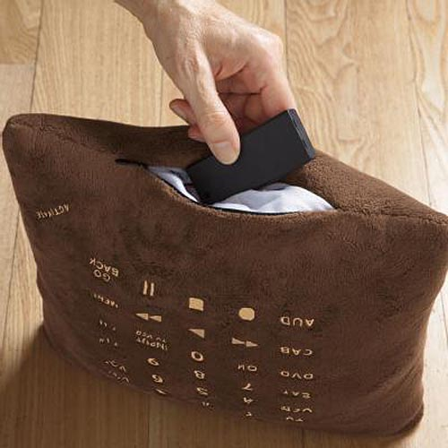 Soft Pillow Doubled as Remote Control