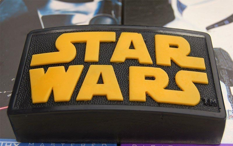Star Wars Logo. The Star Wars logo soap is