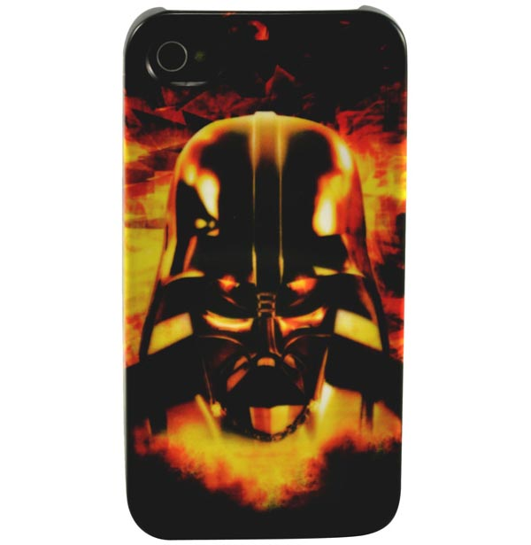 Star Wars Sexy Slave Leia iPhone 4 Case - Darth Vader