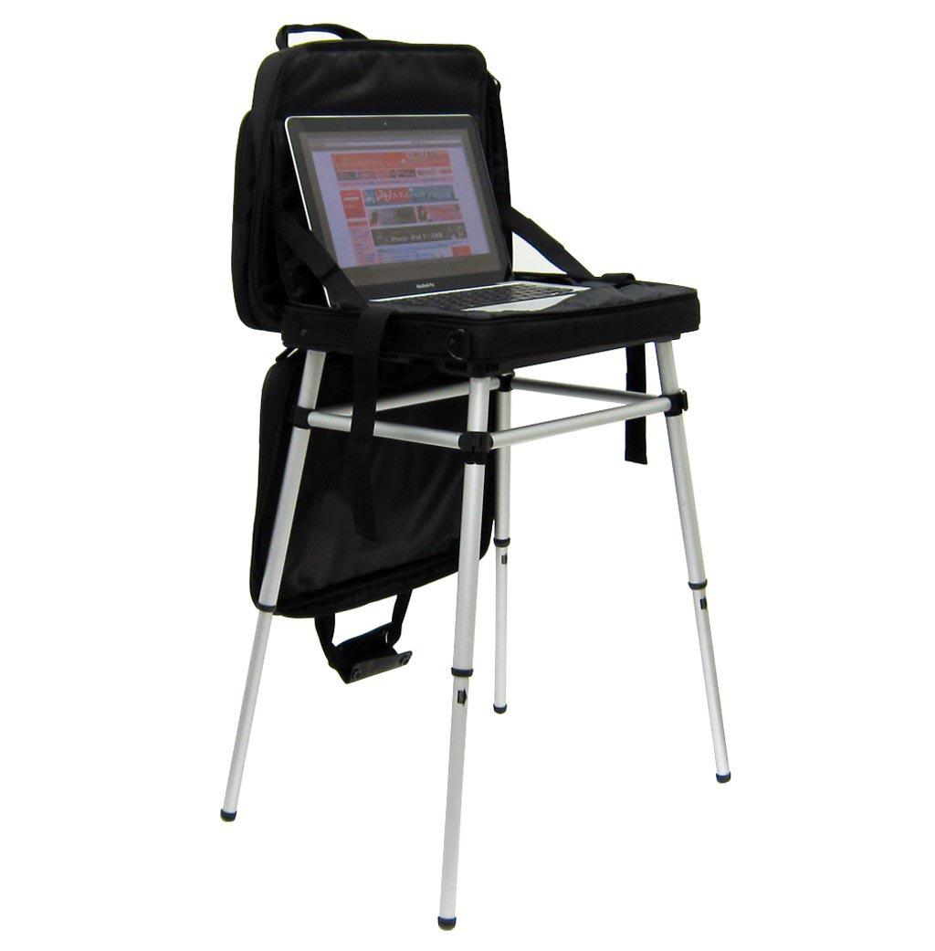 Thanko Table Laptop Bag Lets You Use Laptop Anywhere | Gadgetsin