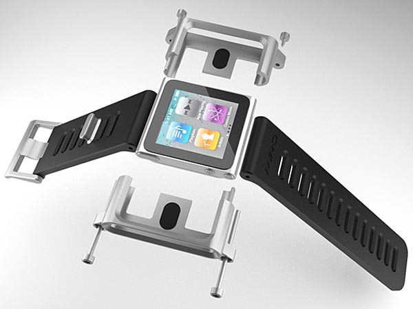 TikTok and LunaTik iPod Nano 6G Watch Bands