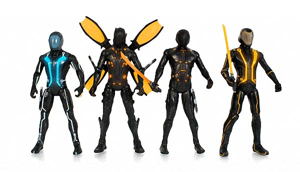Tron Legacy Action Figures Now Available