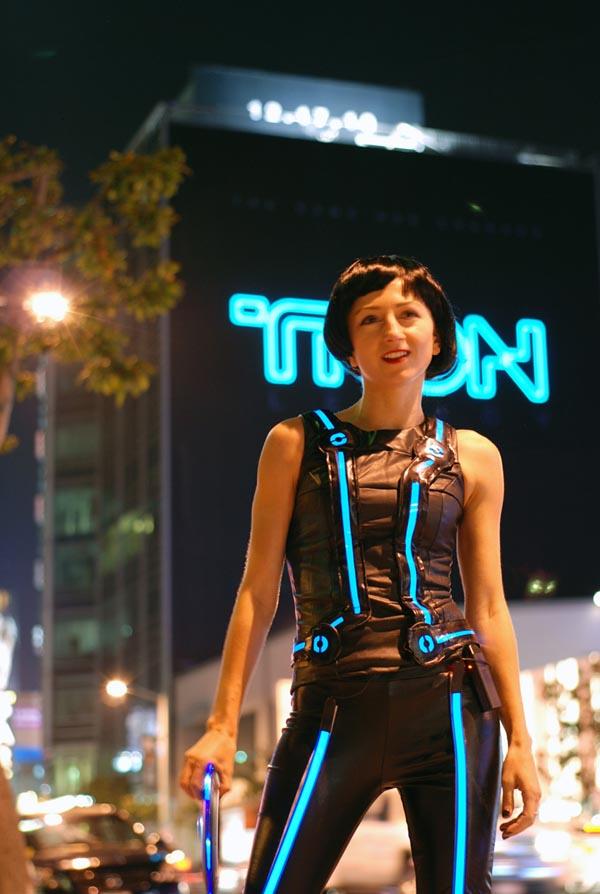 Tron Legacy Quorra Costume