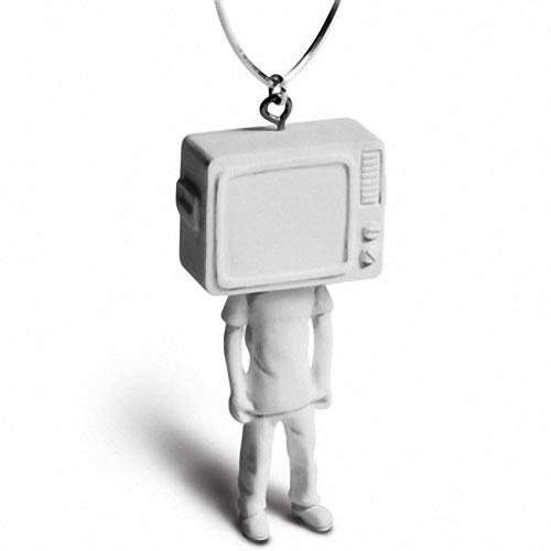 TV Man and Camera Man Necklaces