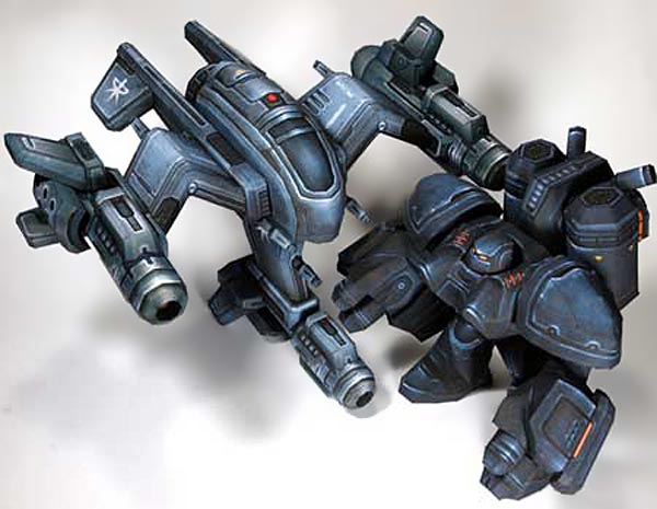 Two Fantastic StarCraft 2 Paper Crafts