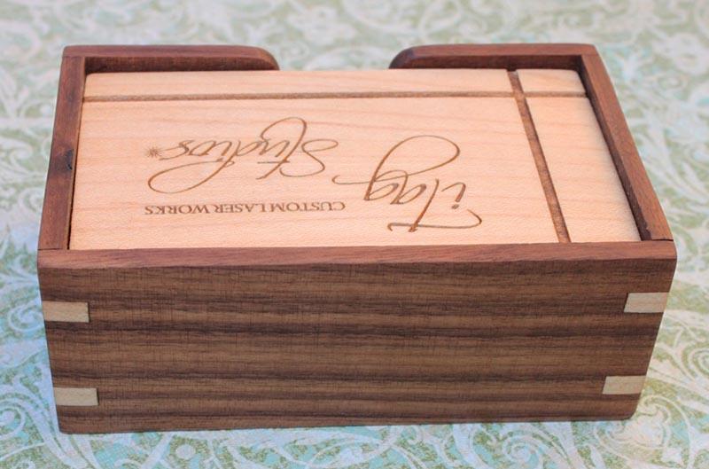 Wooden business card holder gadgetsin reheart Images