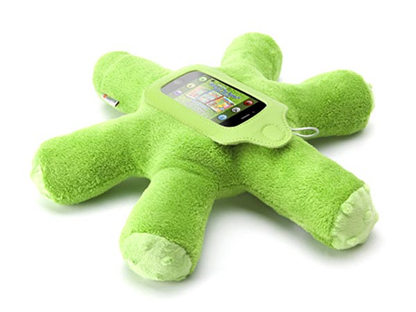Woogie Plush Toy Integrated Speaker Case for iPhone and iPod Touch