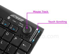 Bluetooth Mini Keyboard Integrated Mouse Track