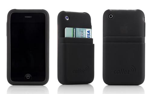 Collet iPhone Case with ID Credit Card Holder