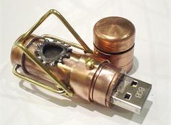 8GB Steampunk USB Flash Drive