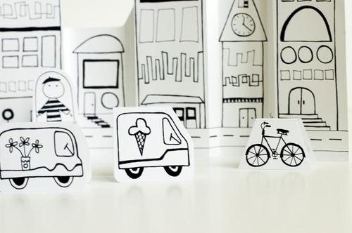 Make Your Own Paper City