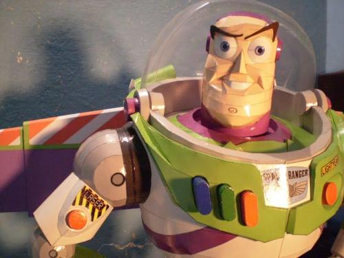 Toy Story Buzz Lightyear Paper Craft