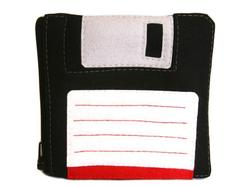 Floppy Disk Zipper Pouch