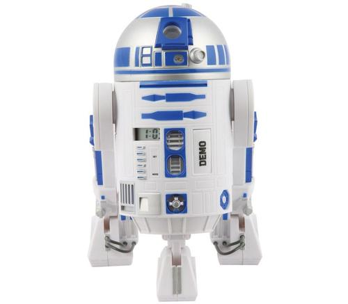 Star Wars R2-D2 Projection Alarm Clock