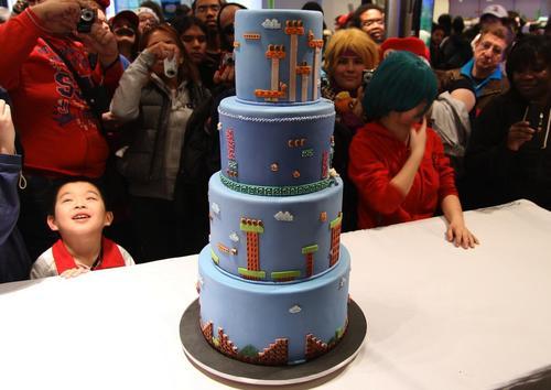 Impressive Super Mario Bros Cake