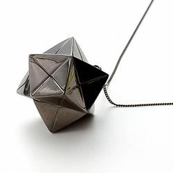 Not Paper Craft But Origami Necklace