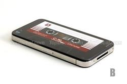 Cassette Tape iPhone 4 Decals