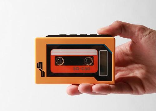 Retro Cassette MP3 Player
