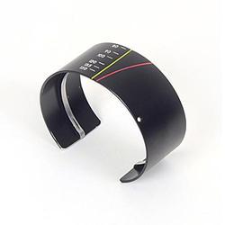 Recycled Camera Lens Cuff Bracelet