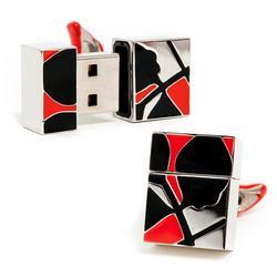 Exquisite USB Flash Drive Cufflinks