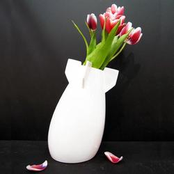 Peaceful Bomb Vase in the Name of Peace