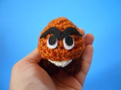 Super Mario Mini Goomba Plush Toy