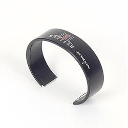 Recycled Camera Lens Cuff Bracelet