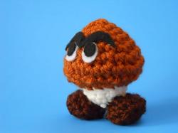 Super Mario Mini Goomba Plush Toy