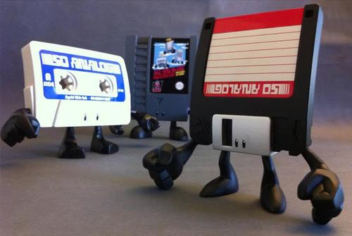 Squid Kids Ink Vinyl Toys Shows Us Familiar Retro Gadgets
