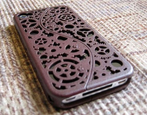 Steampunk iPhone 4 Case