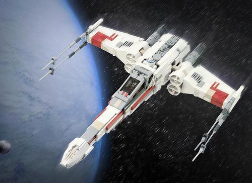 Incredible LEGO Star Wars X-Wing Starfighter