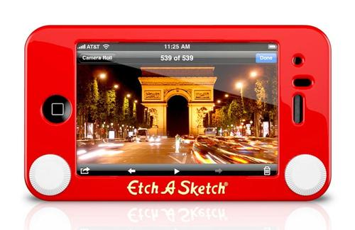 Etch A Sketch Case for iPhone 4 and iPhone 3G/3GS