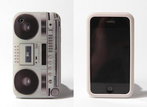 Retro Boombox Styled iPhone Case