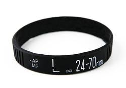 Camera Lens Silicone Bracelet