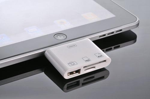 3-In-1 iPad Camera Connection Kit