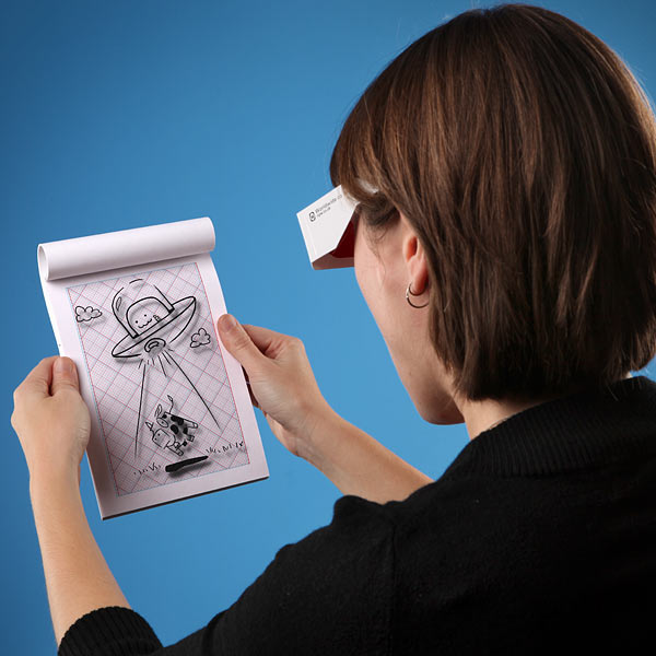 3D Drawing Pad With 3D Glasses