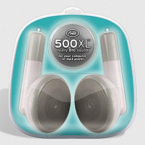 500XL Giant Earbud Speakers